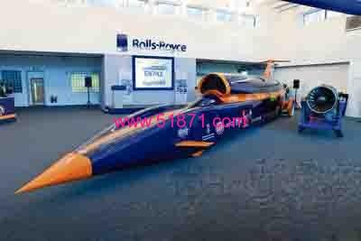 SGS Tool公司参与了一项名为Bloodhound火箭汽车的项目,并提供了针对铝材的加工刀具